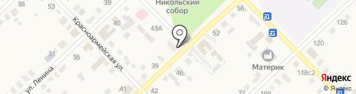 Электрон на карте Верхнеуральска