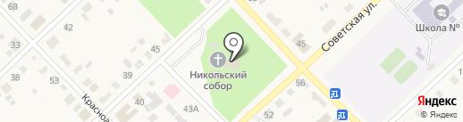 Религионзная лавка на карте Верхнеуральска