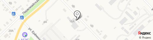 Автоцентр на карте Верхнеуральска