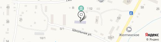 Росинка на карте Желтинского