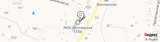Динамика на карте Желтинского