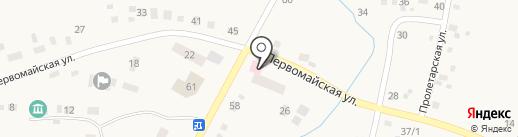 Скиф, продовольственный магазин на карте Желтинского