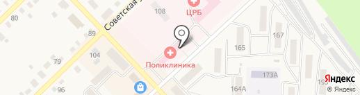 Верхнеуральская центральная районная больница на карте Верхнеуральска