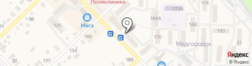 Салон-магазин на карте Верхнеуральска