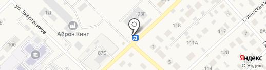 Ветеринарная аптека на карте Верхнеуральска