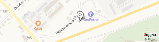 Автомагазин на карте Верхнеуральска