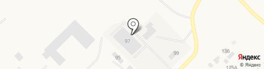 Фабрика картонной продукции на карте Верхнеуральска