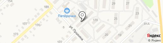 Парикмахерская на карте Верхнеуральска