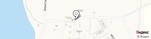 Продуктовый магазин Гайнетдинова А.В. на карте Озерного
