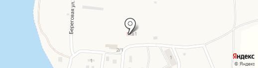 Озерный фельдшерско-акушерский пункт на карте Озерного