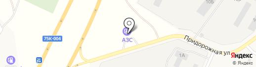 АЗС Башкирнефть на карте Буранного