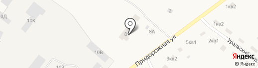 Луч на карте Буранного