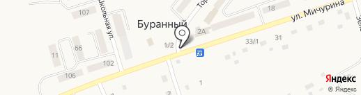 Магазин игрушек Житбисбаев Б.М. на карте Буранного