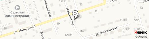 Теремок на карте Буранного