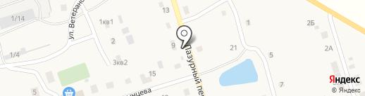 Продуктовый магазин на карте Буранного