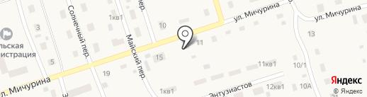 Добрый хозяин на карте Буранного