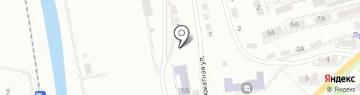 Артель на карте Златоуста