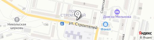 Игрушки на карте Златоуста