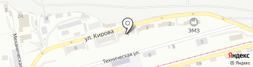 ЛЕГАС на карте Златоуста