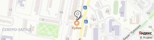 Экона на карте Златоуста
