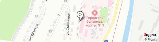 Детская городская больница №2 на карте Златоуста