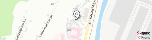 Магазин автозапчастей на карте Златоуста