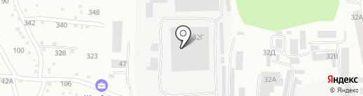 Сталепромышленная компания на карте Златоуста