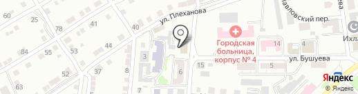 Магазин антенного оборудования на карте Златоуста