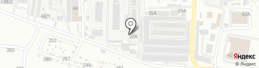 Златоустовский водоканал на карте Златоуста