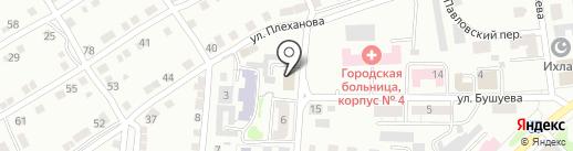 Промышленная компания на карте Златоуста