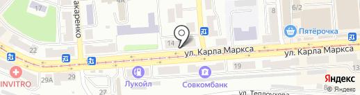 Тепломир на карте Златоуста