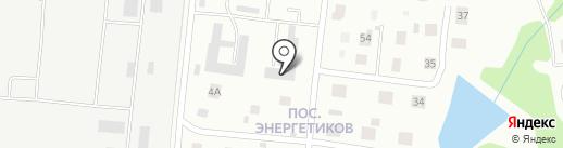 ЗГРЭС на карте Златоуста