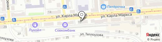 Альфа-Банк на карте Златоуста
