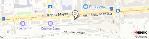 БыстроБанк на карте Златоуста
