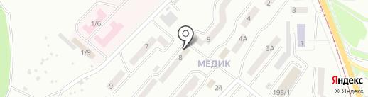 Qiwi на карте Златоуста