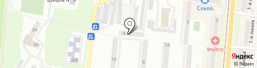 Златоустовский участок абонентской службы на карте Златоуста