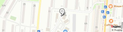 Специализированный магазин мясной продукции на карте Златоуста