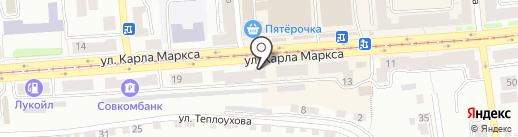 Банкомат, Почта Банк, ПАО на карте Златоуста