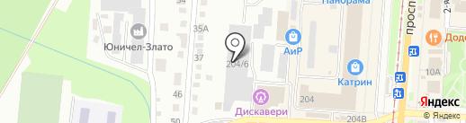 Агроресурс на карте Златоуста