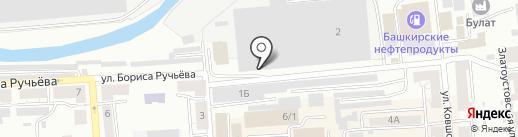 Производственное объединение им. И. Бушуева на карте Златоуста
