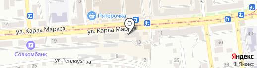 Леопольд на карте Златоуста