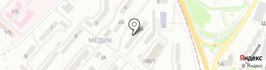 УралЭнерго на карте Златоуста