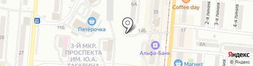 Музыкальный салон на карте Златоуста