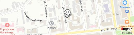 Компания по изготовлению памятников на карте Златоуста