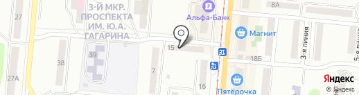 Элемент-Сервис на карте Златоуста
