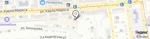 Магазин оптики на карте Златоуста