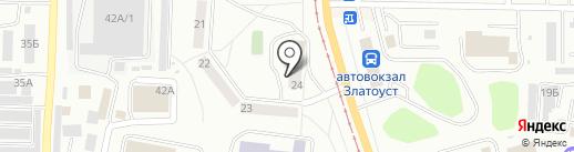 Южно-Уральский адвокатский центр №18 на карте Златоуста