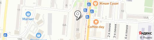 Домовой на карте Златоуста