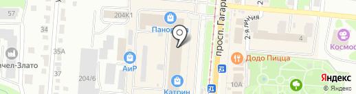 Ремонтная мастерская на карте Златоуста