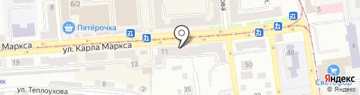 Варвара на карте Златоуста